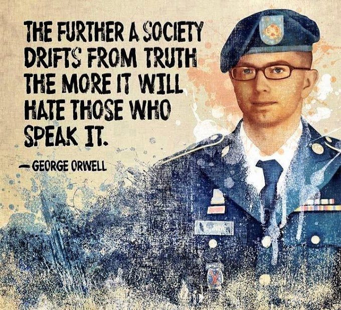 The further a society drifts from the truth, the moreit will hate those who speak it.