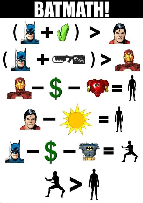 batmath batman mathematik mathematics