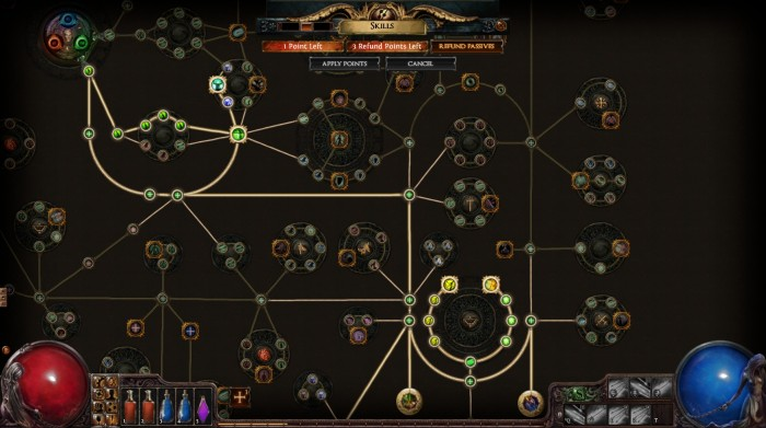 Path of Exile - Skilltree - Freeeerunning - Level 30