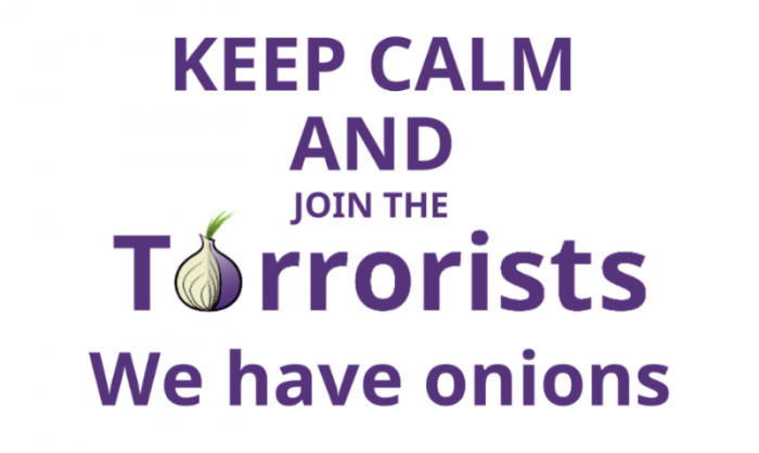 keep calm and join the torrorists, we have onions