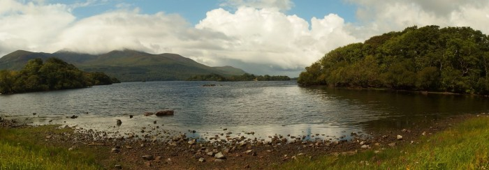 Lake Rossmore panorama