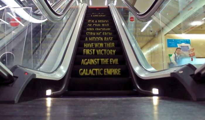 star-wars-escalator rolltreppe