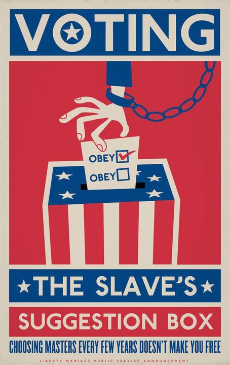 voting the slave's suggestion box