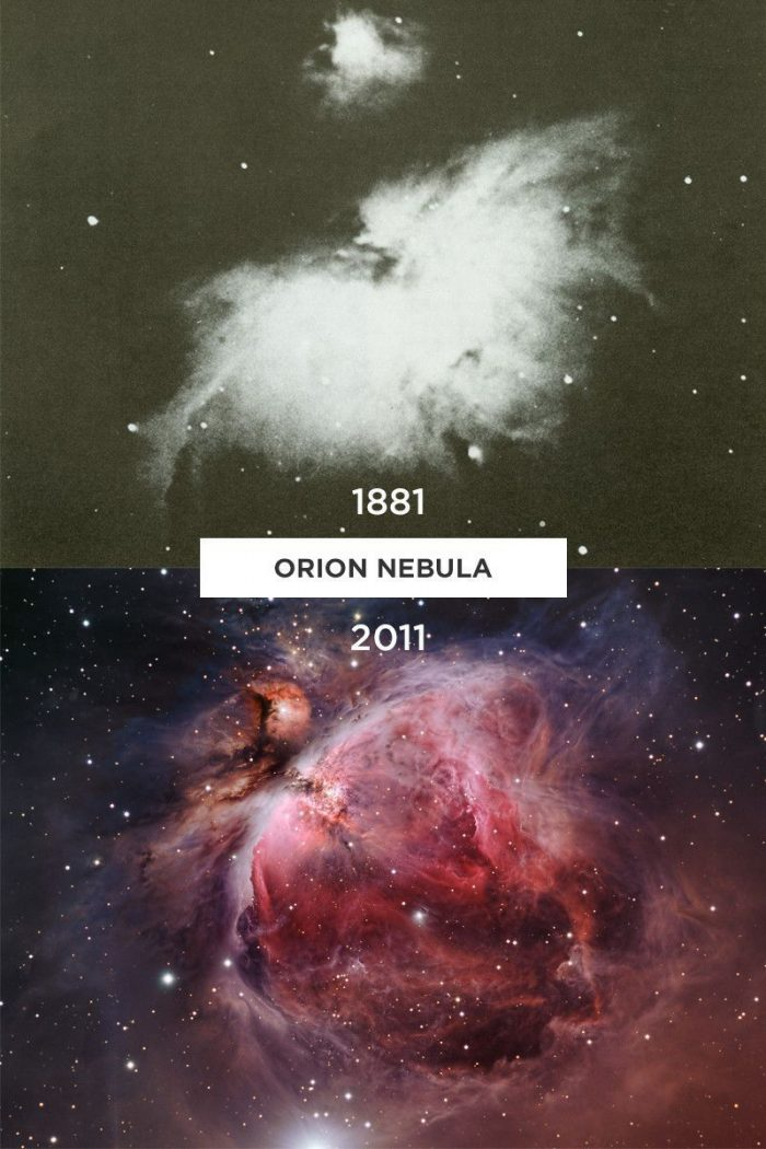 orion nebula 1881 2011